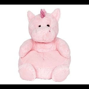 18x17x19 unicorn plush chair